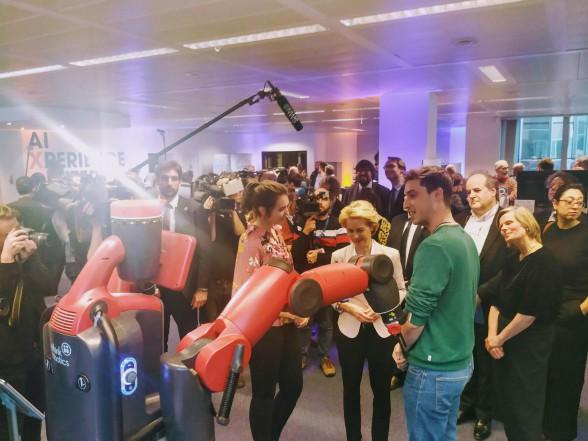 President of European Commision Ursula Von Der Leyen visits VUB