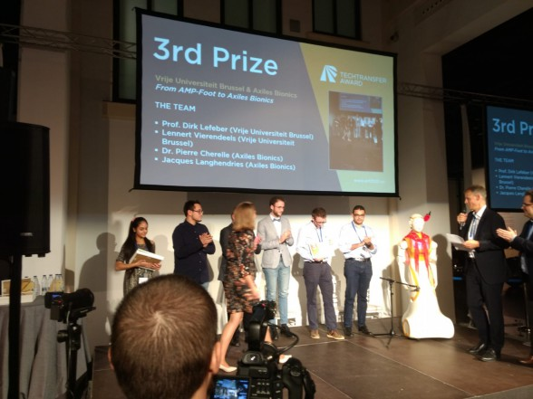 3rd prize for Axiles Bionics project